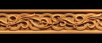 decorative wood carvings frieze celtic nouveau decorative carved wood molding