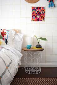 wire and wood basket side table designing your own side table 10 inspiring suggestions