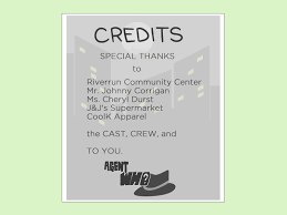 how to design a playbill 13 steps with pictures wikihow