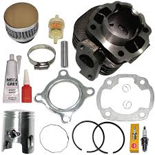 amazon com polaris scrambler 50 piston cylinder kit gasket rings