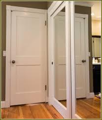 Mirrored Folding Closet Doors Beautiful Ideas Wood Sliding Closet Doors Lowes Mirrored 3856