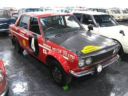 Nissan Bluebird 510 Rally Car Premium 1969