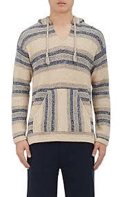 baja sweater outerknown alpaca cotton striped baja hoodie barneys york