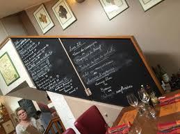 ma cuisine beaune menu board on stairs picture of ma cuisine beaune tripadvisor