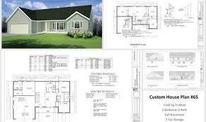 custom home design plan custom house plans nl home design and