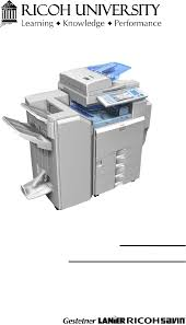 ricoh b222 b224 aficio mp c3500 mp c4500 parts u0026 service manual