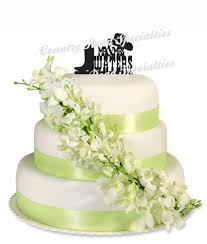 western wedding cake topper hat and boot cake trooper cowboy
