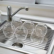 Kitchen Sink Dish Rack Pier The Sink Dish Drying Rack Stainless
