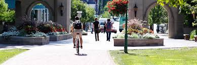 Iu Campus Map Walking U0026 Biking Transportation Options Office Of Parking