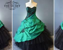 and green wedding dresses pagan wedding dress etsy