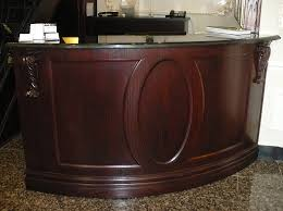 Reception Desk Curved Curved Oak Reception Desk Willsëns Architectural Millwork