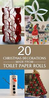 decorations made from toilet paper rolls