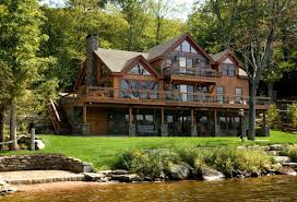 lakefront house plans with walkout basement 9000