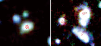 mysterious infrared light from space resolved perfectly alma
