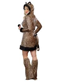 Size Cat Halloween Costumes Size Women U0027s Cheetah Licious Costume