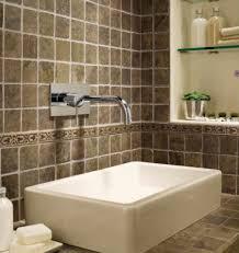 Travertine Bathroom Ideas Bathroom Extraordinary Bathroom Design And Decoration Using Brown