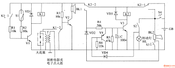 alarm circuit page security circuits next gr anti theft of
