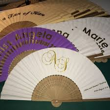 personalized fans for weddings 47 best personalised wedding fans images on wedding