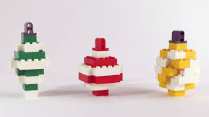 how to build lego ornaments