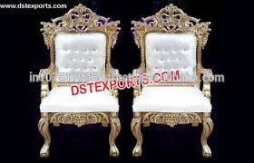 indian wedding chairs for and groom classic and groom royal wedding chair gold brass metal