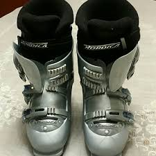 womens size 11 ski boots 75 nordica shoes nordica s ski boots silver from