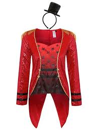 Ringmaster Halloween Costume Ringmaster Halloween Costume Women George
