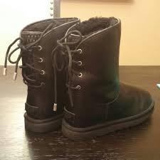 ugg s jardin boot 48 ugg boots s black sz 6 ugg mariana boots from