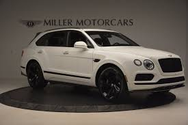 bentley suv matte black 2018 bentley bentayga black edition stock b1265 for sale near