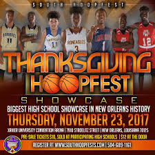 south hoopfests on thanksgiving hoopfest showcase is the