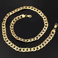 long vintage necklace images Hip hop chunky long gold chain for men 12mm gold color vintage jpg