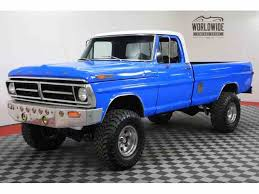 1972 ford f250 cer special ford f250 for sale on classiccars com 67 available