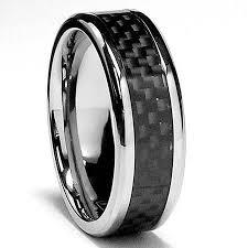 carbon fiber wedding band bonndorf laboratories titanium carbon fiber comfort fit wedding