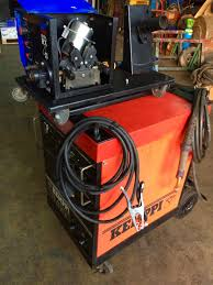 kemppi ra450 used mig welding machine 415v with rival rx 4 4 drive