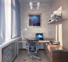 decorations creative home office space with small white computer