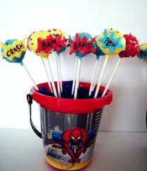 spiderman cake pops cakes and cupcakes for kids birthday party