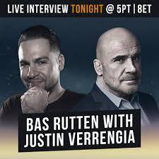 bas rutten i m doing a facebook live interview tonight facebook