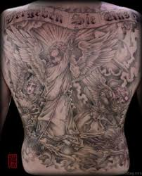 Back Pieces Tattoos 54 Graceful Religious Tattoos On Back