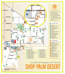 Palm Springs Map Palm Desert Shopping Map Palm Desert Ca U2022 Mappery