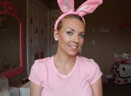 like a bunny sam schuerman easter makeup bunny inspired