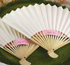 fans for weddings held fans for wedding new style bamboo paper pocket fan