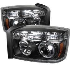 dodge dakota fog light 5009760 dodge dakota halo led projector headlights black pro