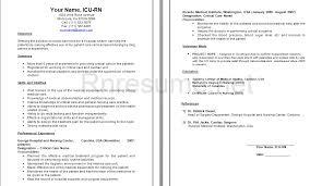 Rn Job Description Resume Rn Sample Resumes Resume Examples Samples Telemetry Nurse Job