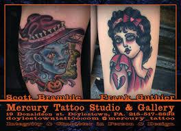 Pennsylvania Travel Tattoo images Mercury tattoo studio gallery doylestown frank guthier jpg