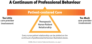 boundaries in the nurse client relationship