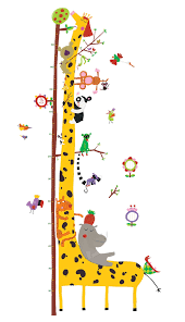 wall stickers height chart friends the amazon from djeco for wall stickers height chart friends the amazon from djeco for only