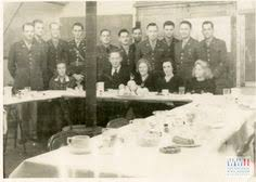 thanksgiving dinner at the battalion headquarters at c