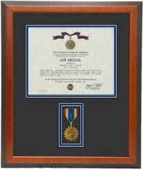 certificate frame air medal certificate frame memories and more