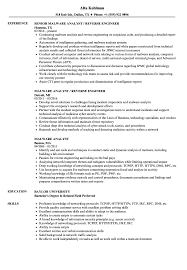 sle of resume malware analyst resume sles velvet