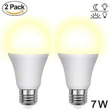 light sensor light bulbs aukora dusk to dawn led light bulbs 7w e26 e27 sensor lights bulbs