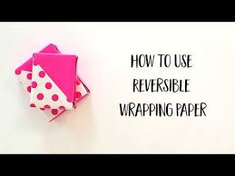 reversible wrapping paper techniques 45 degree angle